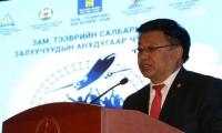 Д.Ганбат: Зам, тээврийн салбарын залуус дэлхийн түвшний технологийг нэвтрүүлж чадна