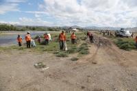 Туул, Улиастайн гол дагуух 20 тонн хог хаягдлыг цэвэрлэлээ