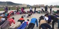 Ерөнхийлөгч залуучуудтай хамт өглөөний дасгал хийж, гүйлээ
