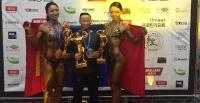 Бодибилдинг, фитнессийн ААШТ-ээс дөрвөн медаль хүртжээ