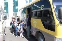 Сургуулийн автобусуудад шалгалт хийж байна