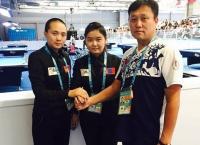 Бильярдын хос тамирчид Универсиад наадмаас хүрэл медаль хүртэв