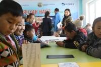 Гэр хорооллын хүүхдүүдэд үйлчлэх номын сантай боллоо