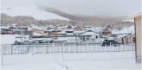 ФОТО: Намрын дунд сард орсон цас