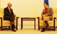 ГХ-ны сайд Д.Цогтбаатар Канад Улсаас Монгол Улсад суугаа Элчин сайдтай уулзав