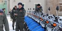 Байгаль хамгаалагчдад бартаат замын 60 мотоцикль гардууллаа