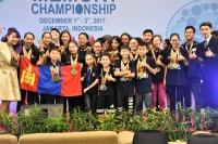 Оюуны спортын тамирчид дэлхийн аварга боллоо