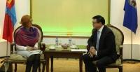 НИТХ-ын дарга С.Амарсайхан НҮБ-ын суурийн төлөөлөгчийг хүлээн авч уулзлаа