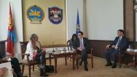 НИТХ-ын дарга С.Амарсайхан Франц улсын Элчин сайдыг хүлээн авч уулзлаа