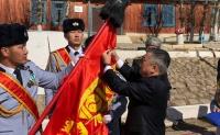 Зэвсэгт хүчний 089 дүгээр ангийг цэргийн гавьяаны улаан тугийн одонгоор шагнав