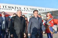 Туркийн Ерөнхий сайд Монголд хүрэлцэн ирлээ