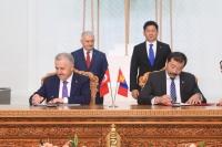 Монгол-Туркийн харилцаа, хамтын ажиллагааны баримт бичигт гарын үсэг зурав