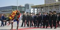 ФОТО: Алтан мөрдэст генералуудад хүндэтгэл үзүүлэв
