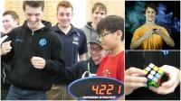ВИДЕО: Рубикийн шоог 4.22 секундэд эвлүүлж, рекорд тогтоов