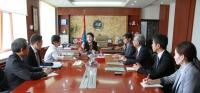 Монгол-Японы хамтарсан сургалтын эмнэлгийн асуудлаар санал солилцлоо