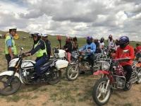 Хамгаалах малгай өмсөөгүй мотоциклийн жолоочид хариуцлага тооцно