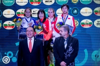 Б.Халиунаа залуучуудын ДАШТ-ээс мөнгөн медаль хүртлээ