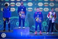Б.Бат-Эрдэнэ залуучуудын ДАШТ-ээс хүрэл медаль хүртлээ