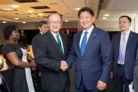 Ерөнхий сайд У.Хүрэлсүх, Дэлхийн банкны Ерөнхийлөгчтөй уулзав