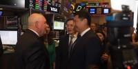 Ерөнхий сайд Нью-Йоркийн Хөрөнгийн биржид зочлов
