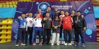 Ахмад бөхчүүд Македоноос 10 медальтай ирнэ