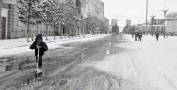 Цас орж, цасан шуурга шуурна