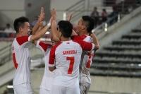 Монголын шигшээ баг нөхөрсөг тоглолтоос анхны ялалтаа авлаа