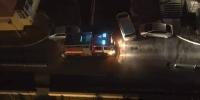 Aвтомашинаа гарц хааж байрлуулснаас болж хоёр машин шатжээ