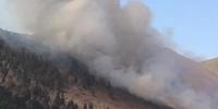 Богд ууланд дахин түймэр  гарав