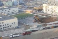 Сургуулийг өргөтгөхийн тулд хөлбөмбөгийн талбайг нь сүйтгэж байна