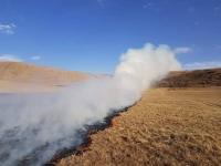 Шилийн богд ууланд түймэр гаргачихаад хэргийн газраас зугтаажээ