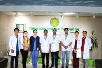 ГССҮТ-д Энэтхэг улсаас ирсэн эмч нарын 4 нь ажиллаж байна