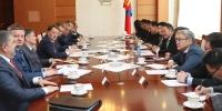 ОХУ-ын Засгийн газрын орлогч дарга А.В.Гордеев Монгол Улсын Ерөнхийлөгч Х.Баттулгад бараалхав