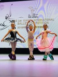 Бяцхан балетчид хүрэл медаль хүртжээ
