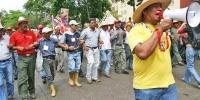 Венесуэлд газар олгохыг шаардаж жагсав