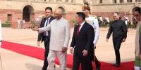 Ерөнхийлөгч Х.Баттулгыг Бүгд Найрамдах Энэтхэг улсын Ерөнхийлөгч Рам Натх Ковинд албан ёсоор угтав