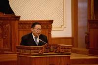 Монголбанкны Ерөнхийлөгч Н.Баяртсайханы УИХ-ын чуулганд хэлсэн үг