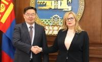 БНПУ-ын Сеймийн дэд маршал, хатагтай Малгажота Гошевскаг хүлээн авч уулзлаа