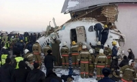 Казахстанд онгоц осолджээ