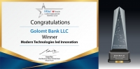 Голомт банк ''Infosys Client Innovation Award-2020''-оос ''Modern Technologies Led innovation'' шагнал хүртлээ