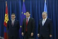 """""""КОВИД-19""""-ын үед Монгол Улсын хариу арга хэмжээг бэхжүүлэхэд ЭМЯ, Европын холбоо, ДЭМБ хамтран ажиллана"""
