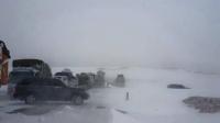 Өнөөдөр Төв, Сэлэнгийн нутаг, Хэнтий, Дорнодын хойд хэсгээр цас орж, цасан шуурга шуурна