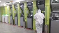 ХААН Банк Экспресс банк АТМ-ууддаа ариутгал   халдваргүйжүүлэлтийг тогтмол хийж байна