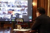 Г.Занданшатар зудын эрсдэл үүссэн Баянхонгор аймгийн сум, багийн удирдлагуудтай цахим уулзалт хийлээ