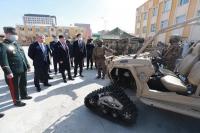 Г.Сайханбаяр: Дотооддоо цэргийн зориулалттай техник үйлдвэрлэх үндэс суурийг тавьсан