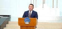 Ерөнхийлөгч Х.Баттулга Монгол ардын намыг тараах тухай захирамж гаргаснаа танилцууллаа