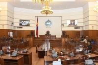 Монгол Улсын Ерөнхийлөгчийн сонгуулийн тухай хуульд өөрчлөлт оруулах тухай хуульд бүхэлд нь хориг тавилаа