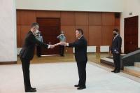 БНТУ-аас Монгол Улсад суух Онц бөгөөд Бүрэн эрхт Элчин сайд Зафер Атеш Итгэмжлэх жуух бичгээ өргөн барилаа