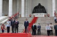 Монгол Улсын төрийн дээд шагнал, тэргүүн зэргийн ''Чингис хаан'' одонг Зэвсэгт хүчний нийт бие бүрэлдэхүүнд хүртээлээ