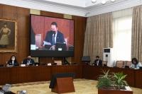 Монгол Улсын Ерөнхийлөгчийн бүрэн эрхийг хүлээн зөвшөөрөх тухай хуулийн төсөл, тангараг өргөх тов тогтоох тогтоолын төслийг дэмжив